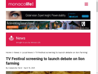 https://monacolife.net/tv-festival-screening-to-launch-debate-on-lion-farming/